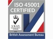 Valeport ISO 45001 logo
