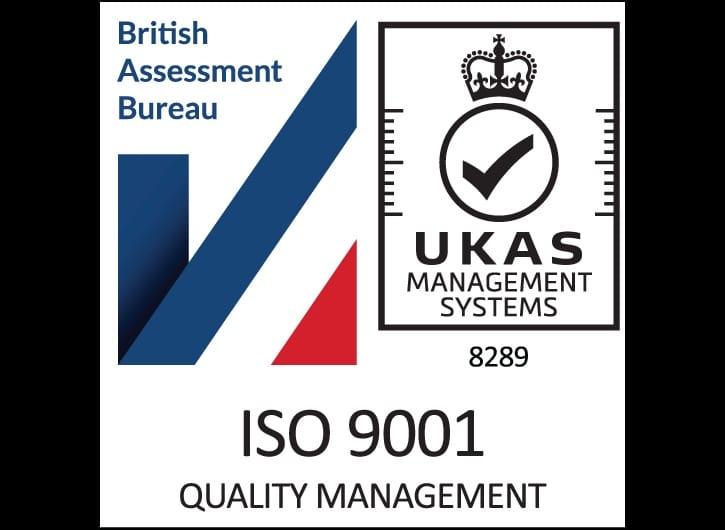 Valeport ISO 9001 logo